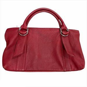 Vintage Express Design Studio Red Leather